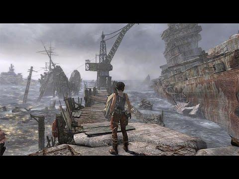 Tomb Raider Definitive Edition 11 A PIRATES LIFE REACH THE GALLEON