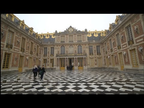 #835 Inside The PALACE Of VERSAILLES Paris France - Daily Travel Vlog (11/19/18) louis xiv