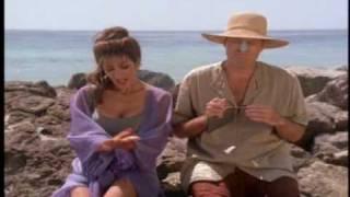 "Deanna Troi in Voyager - ""Inside Man"" Beach Scene"