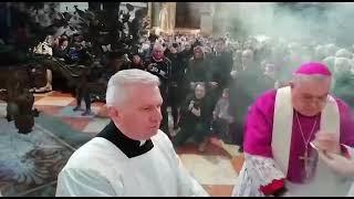 Novara, conclusione della cerimonia del fiore