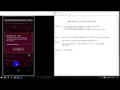 cách hack game windows phone bằng file save - hướng dẫn hiện wpsystem win10mobile để hack game