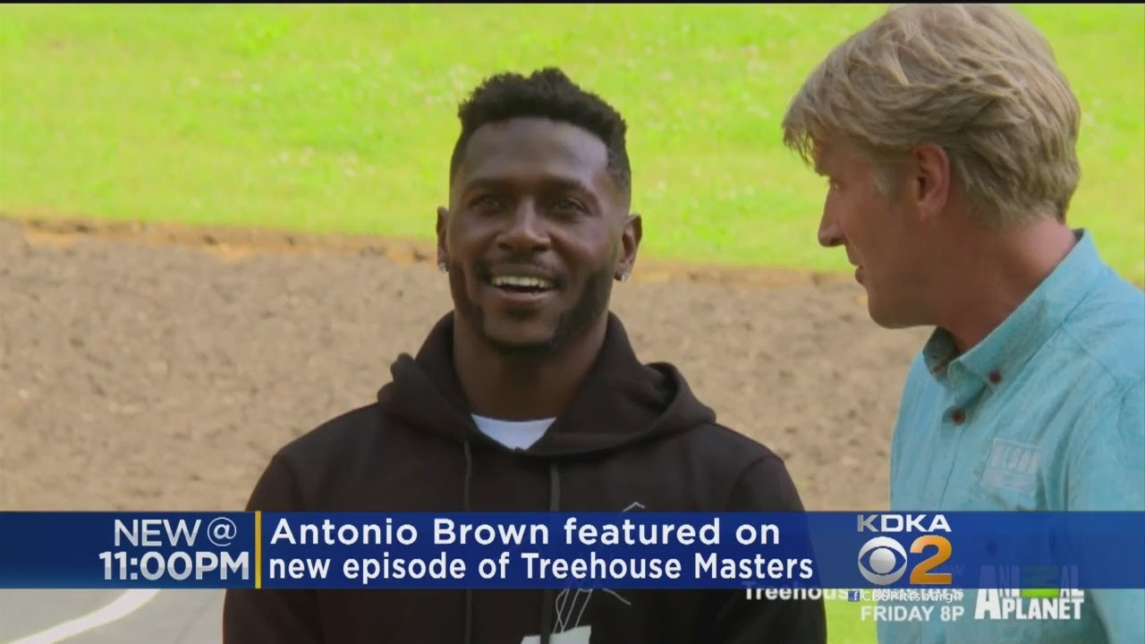 """""""Treehouse Masters"""" Build Antonio Brown Epic, 2-Story Structure"""
