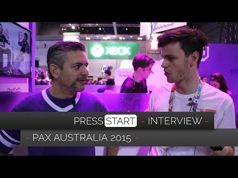 Twitch @ PAX Australia 2015 (Press Start Interview)