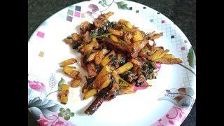 Korola Patar Recipe | Bitter Gourd Leaves Sabzi | Karela Patta Preparation