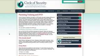Circle of Security International Registration and Payment Process