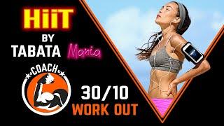 TABATA 30/10 - Workout music w/ TIMER -  Savannah by TABATAMANIA