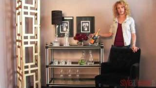 Style At Home Magazine - High / Low: Bar Carts