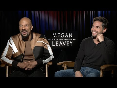 Common & Ramon Rodriguez : Megan Leavey