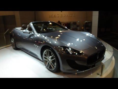 2016 - Maserati Gran Cabrio Sport - Auto Show Brussels 2016