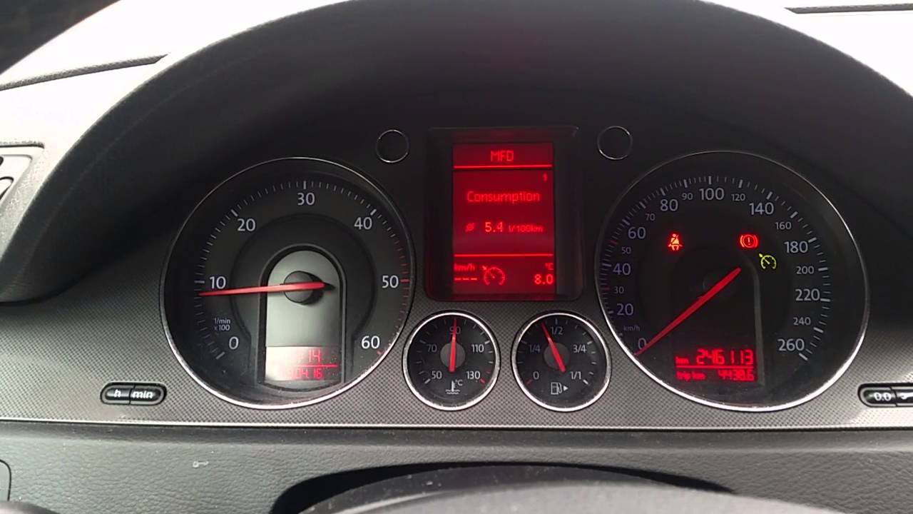 Volkswagen Passat B6 2007 1 9tdi Review Youtube