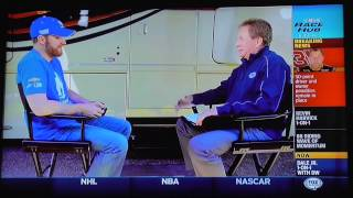 dale earnhardt jr interview on nascar race hub 5 6 2015