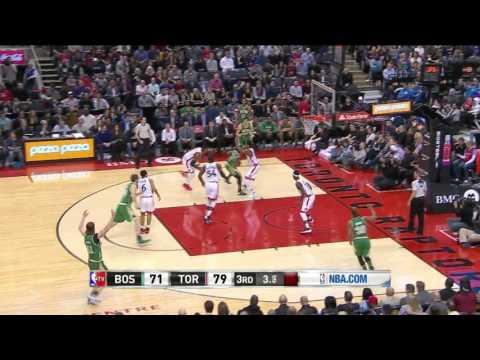 Boston Celtics vs Toronto Raptors | March 18, 2016 | NBA 2015-16 Season