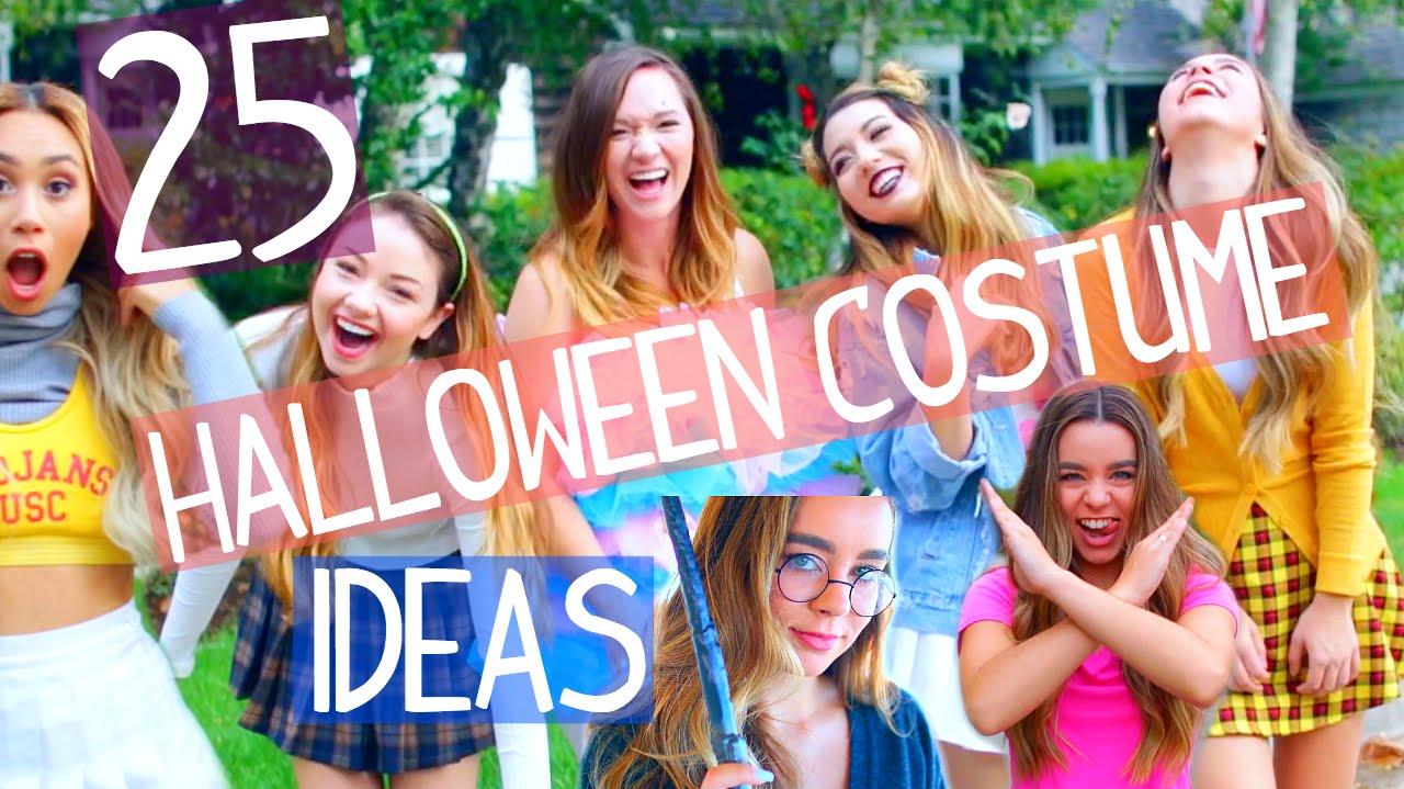 sc 1 st  YouTube & 25 Last Minute Halloween Costume Ideas! - YouTube