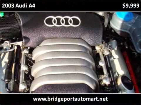 2003 Audi A4 Available From Bridgeport Auto Mart Inc Youtube