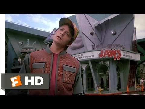 Back to the Future Part 2 (2/12) Movie CLIP - Hill Valley, 2015 (1989) HD