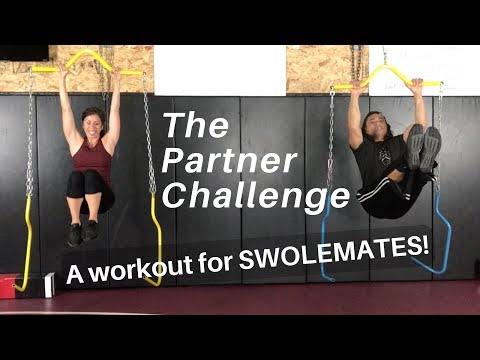 BEST SWOLEMATE WORKOUT | Yoke Training System | Grab your partner!