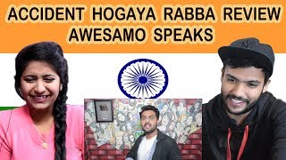 Indian reaction on Khujlee Family | ACCIDENT HOGAYA RABBA REVIEW | Swaggy d