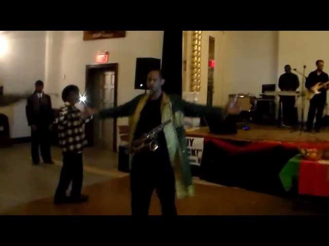 Kwazaa Celebration With Sax Preacher & ETS Band