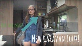 New caravan tour // Blissful Blogger