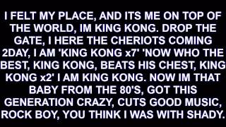 Destorm - King Kong LYRICS