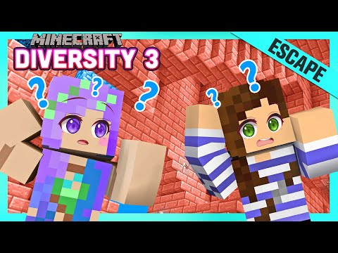 Can We Escape?! - Minecraft Diversity 3 w/ iHasCupquake & StacyPlays  - Ep.23