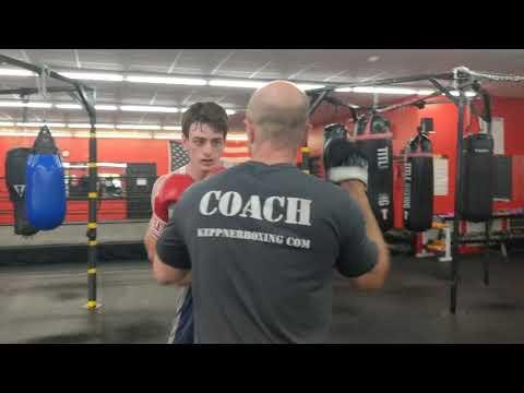 Boxing Gym Near Me Athens GA | Nate Looking Sharp On This Week's Mitt Combo!