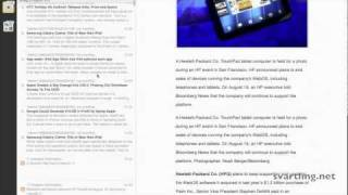 Using only keyword searches in Reeder (RSS Reader)