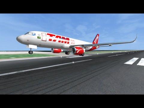 Flight Simulator Online FlyWings - New York GamePlay