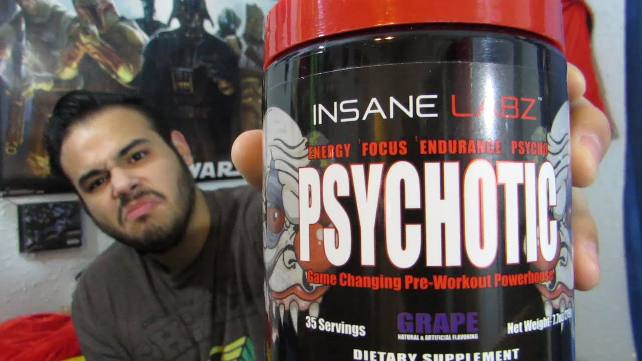 Psychotic Insane Labz Pre Workout Review Youtube