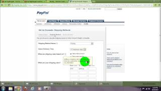 How to create a weebly ecommerce site part 4: change your shipping charges through paypal