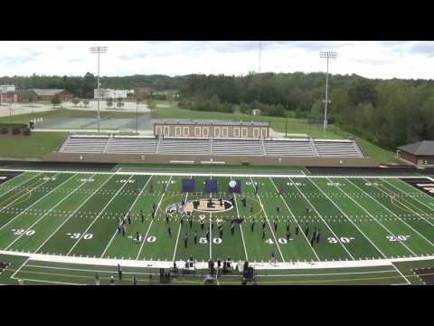 Ware Shoals High School Band Gaffney Contest