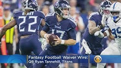 Fantasy Football Waiver Wire 15