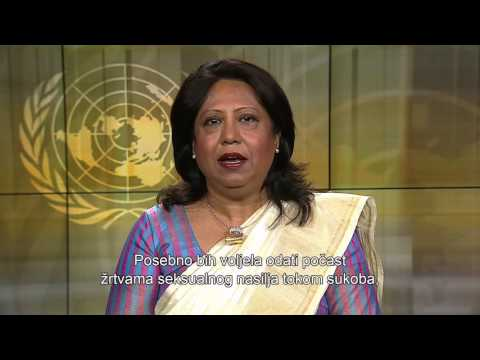 SRSG on Sexual Violence in Conflict, Ms Pramila Patten