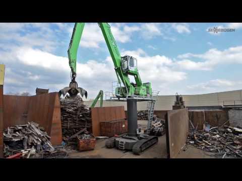 SENNEBOGEN 835 Electric Excavator - Scrap Handling - Germany