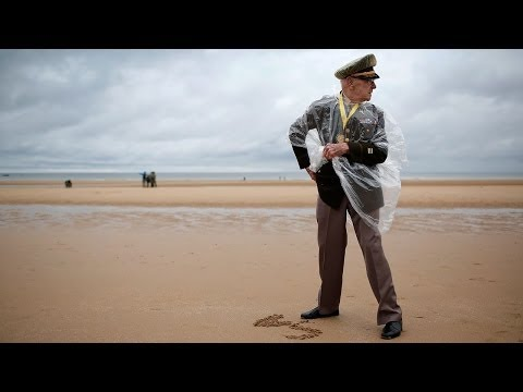 In Normandy, D-Day Veterans Remember Fallen Friends