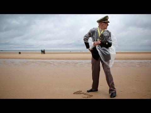 In Normandy, D-Day Veterans Remember Fallen Friends