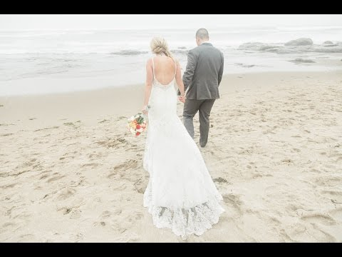 Oregon Coast Wedding {Lincoln City Beach}