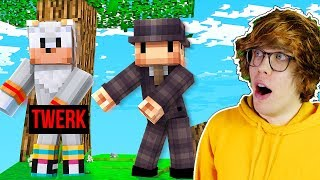 ZAKAZANE TAŃCE W MINECRAFT! | Dealereq VS Tritsus Sky Factory #1