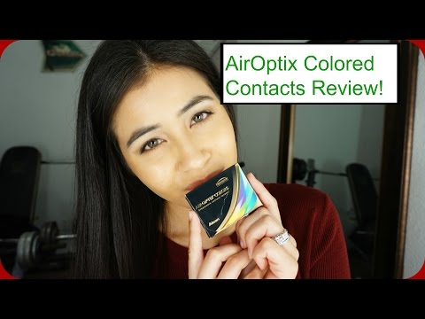 Air Optix Colored Contacts in Pure Hazel Review
