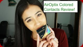 Air Optix Colored Contacts in Pure Hazel Review(, 2016-04-03T19:05:05.000Z)