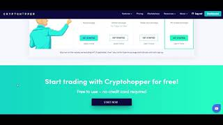 Cryptohopper automatic trading bot updates, Better than even and constantly approving.