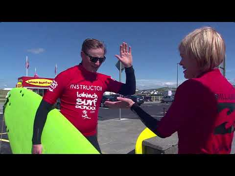 RTE Nationwide visits Lahinch Surf School 2019
