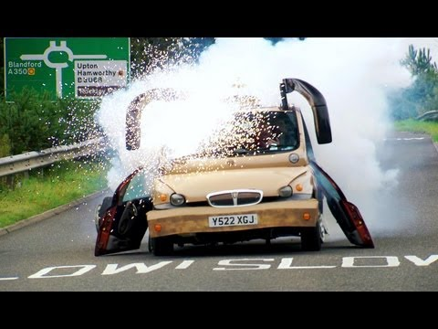 Rover James - The Old People's Car - Top Gear - Series 19 - BBC