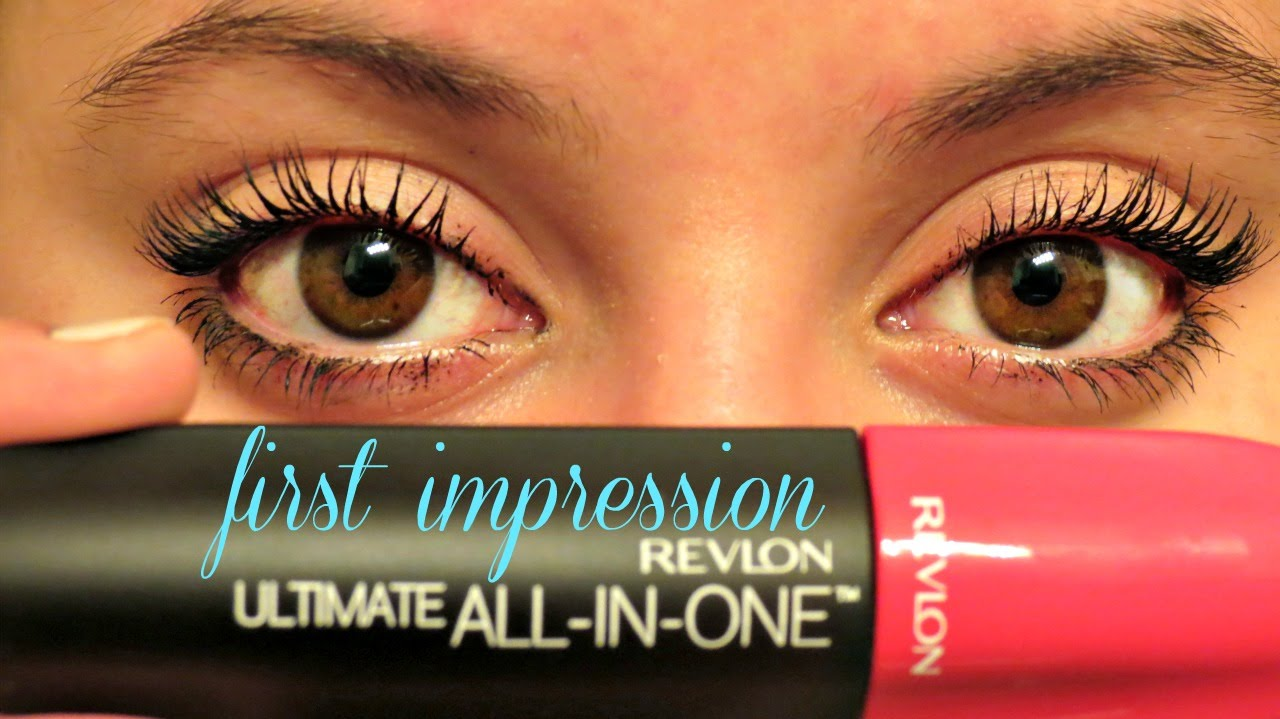 02fdfb3eca0 FIRST IMPRESSION: REVLON Ultimate All In One Mascara! - YouTube