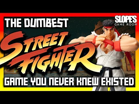 The DUMBEST Street Fighter game you never knew existed! - SGR