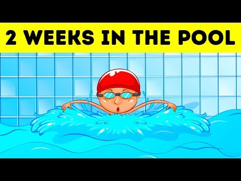 What If You Stayed in the Swimming Pool for 2 Weeks?