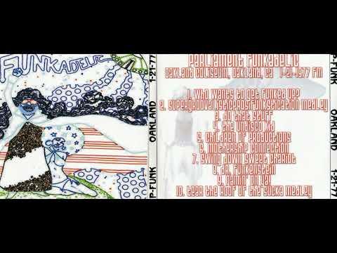 PARLIAMENT FUNKADELIC live in Oakland, CA, 21.01.1977