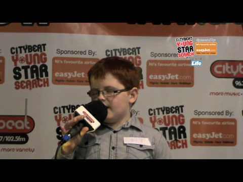 Citybeat Young Star Search 2009 with easyjet: Bow Street Mall : Shane McGirr