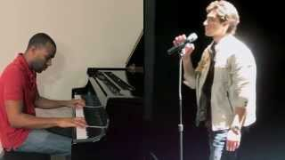 When I Was Your Man - Bruno Mars Piano Cover ft. Robbie Rosen