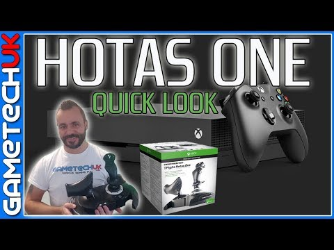 Thrustmaster TFlight Hotas One Quick look